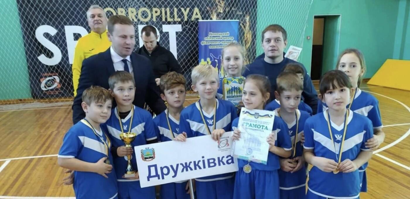 Дружковские школьники завоевали серебро областных соревнований «Веселые старты», фото-1