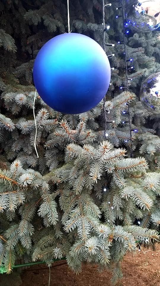 С главной елки Дружковки сегодня ночью украли шары на сумму более 7 тысяч гривен , фото-2