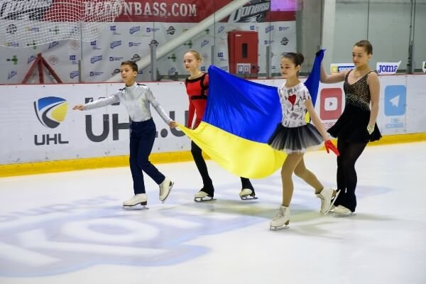 Свято Олімпійського прапора відбулося на льодовій арені Дружківки (ФОТО), фото-1
