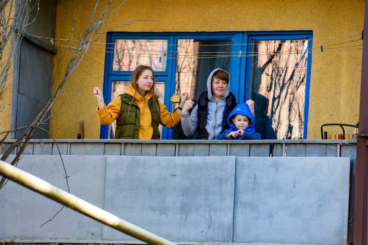 «Донбасс» провел утреннюю зарядку для жителей Константиновки , фото-5