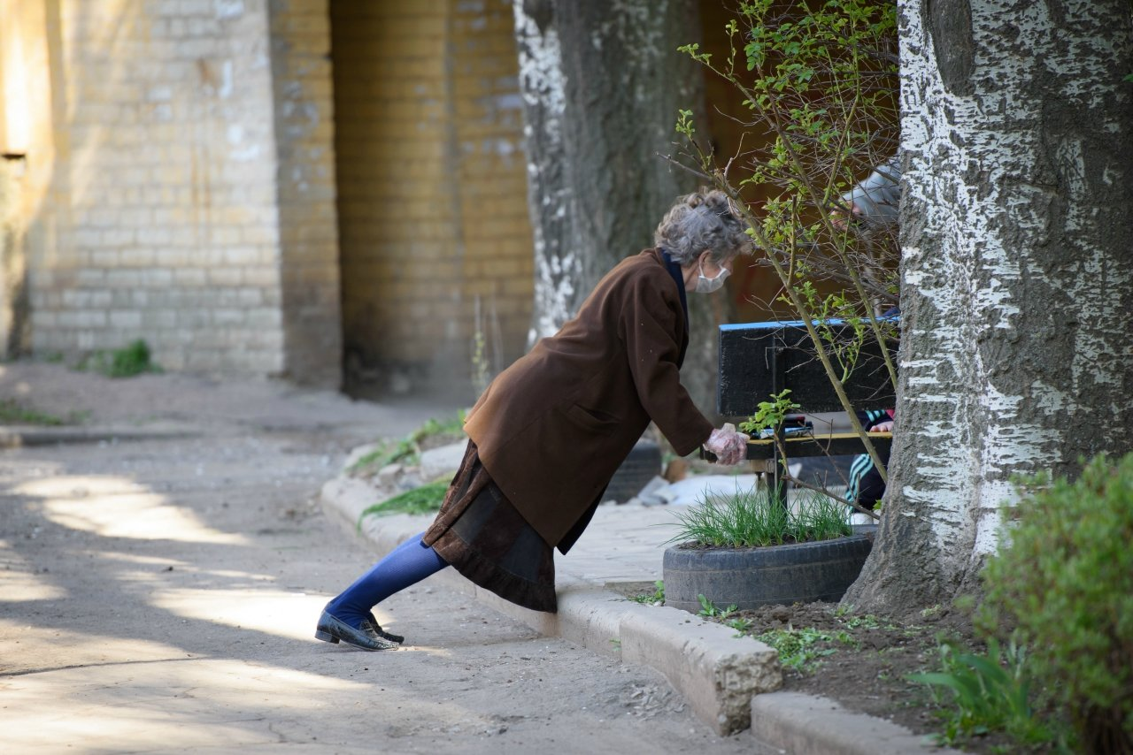 «Донбасс» провел утреннюю зарядку для жителей Константиновки , фото-4