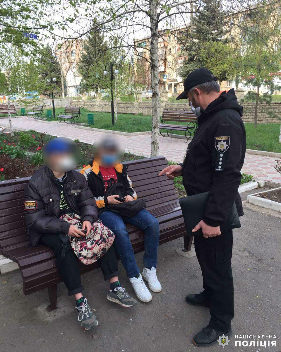 Дружківка: Маленька дівчинка гуляла містом без супроводу батьків, фото-1