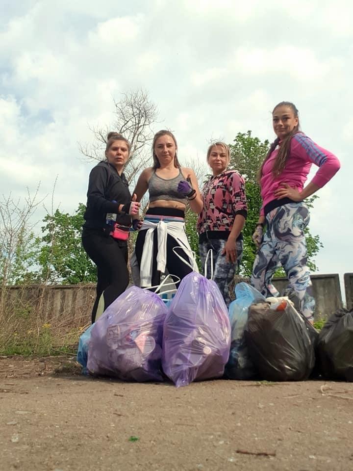Плоггинг вместо джоггинга: В Дружковке эко-движение набирает обороты (ФОТО), фото-5