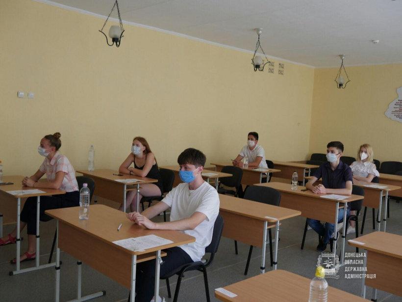 В яких умовах стартувала сьогодні основна сесія ЗНО-2020 на Донеччині (ФОТО), фото-6