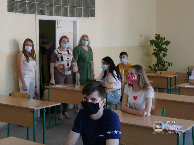 В яких умовах стартувала сьогодні основна сесія ЗНО-2020 на Донеччині (ФОТО), фото-5