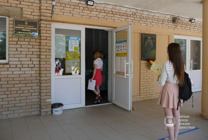 В яких умовах стартувала сьогодні основна сесія ЗНО-2020 на Донеччині (ФОТО), фото-3