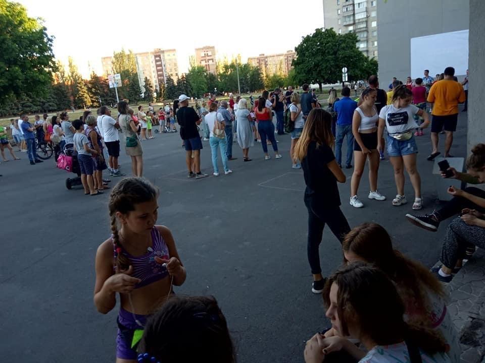 Дружківка: На площі Молодіжній вчора офіційно відкрили мультиспортивний простір для тренувань на свіжому повітрі, фото-1