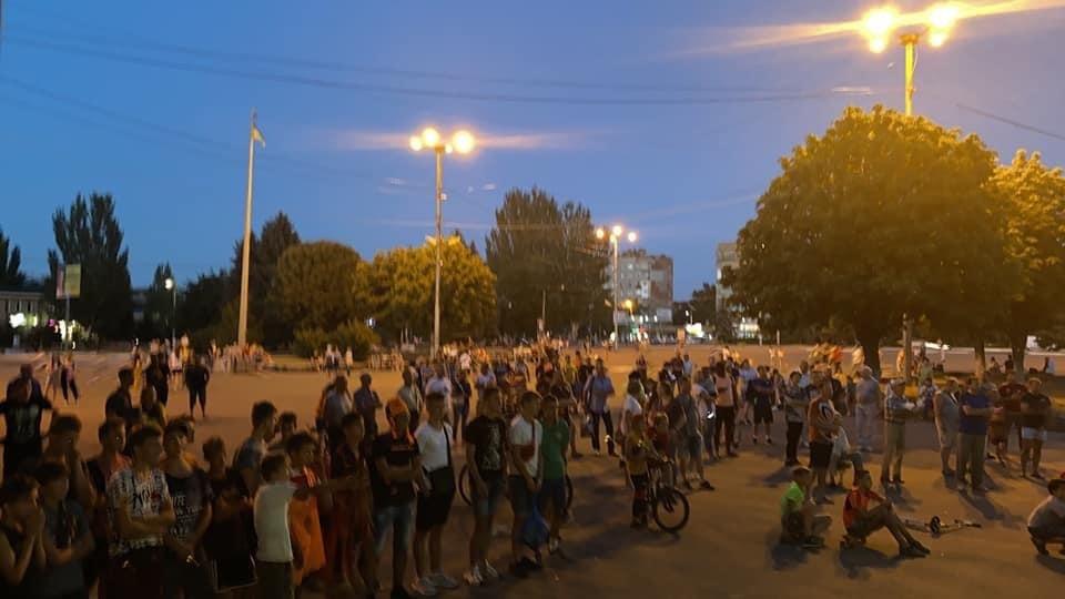 Дружківка: На площі Молодіжній вчора офіційно відкрили мультиспортивний простір для тренувань на свіжому повітрі, фото-6