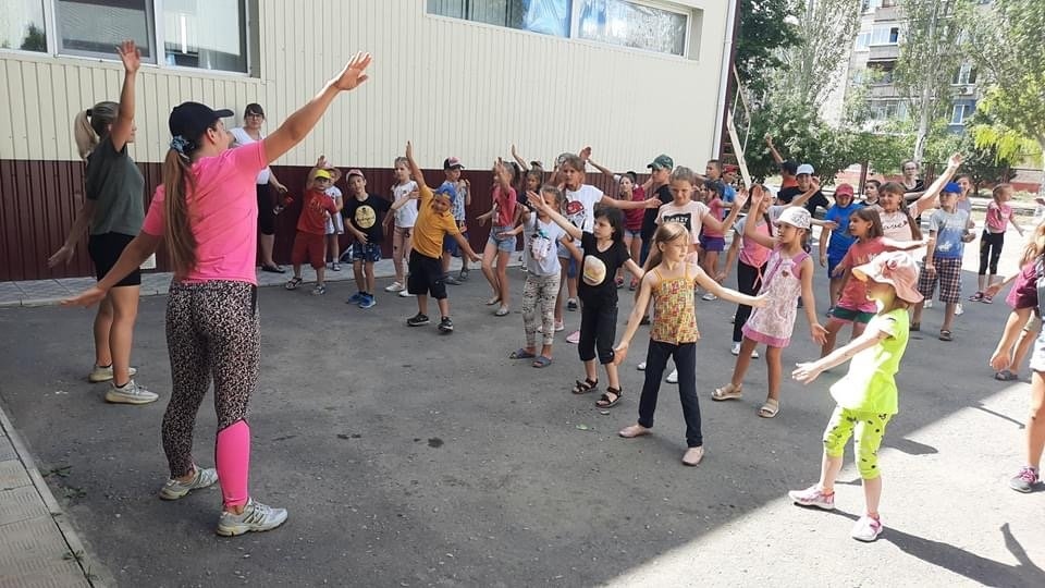 В Дружківці пройшов чотирьоденний спортивний марафон для дітей (ФОТО), фото-1
