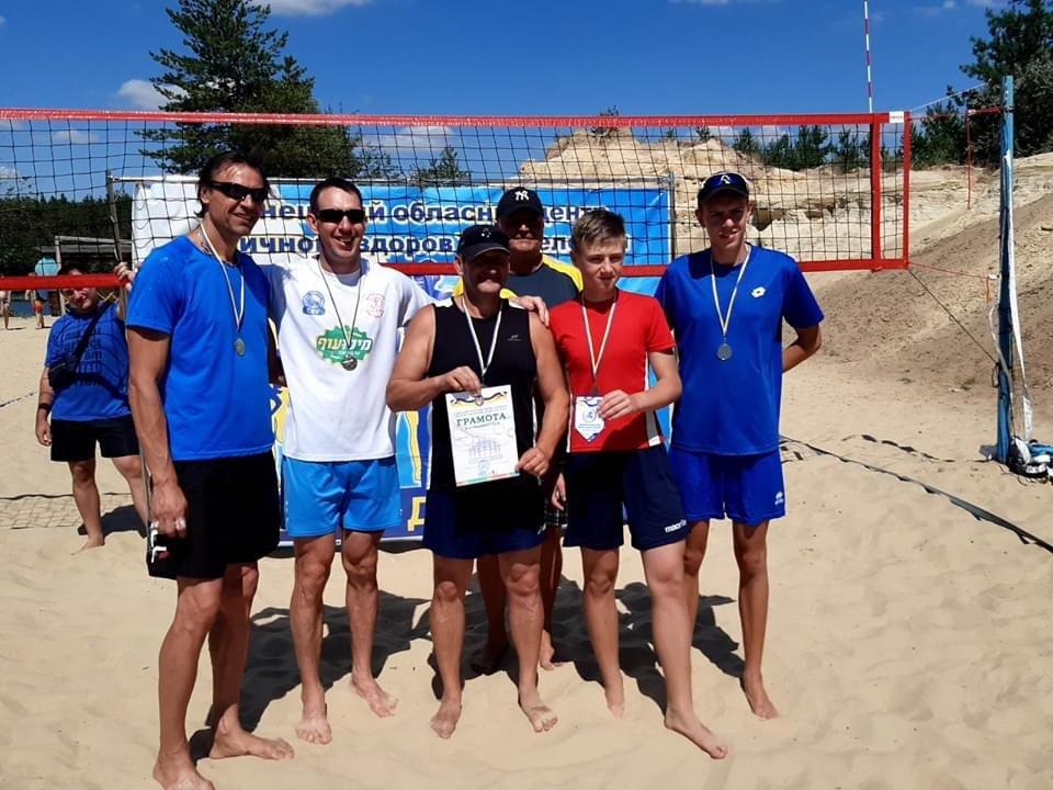 Волейболісти з Дружківки посіли третє місце в турнірі «Олімпійське літо», фото-6