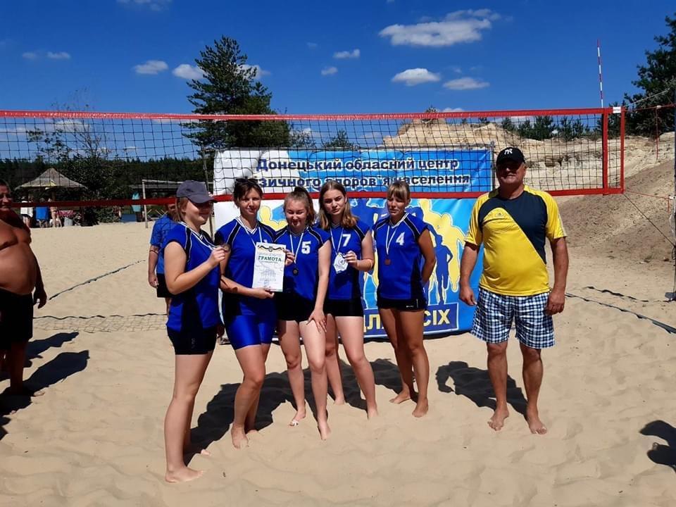 Волейболісти з Дружківки посіли третє місце в турнірі «Олімпійське літо», фото-2