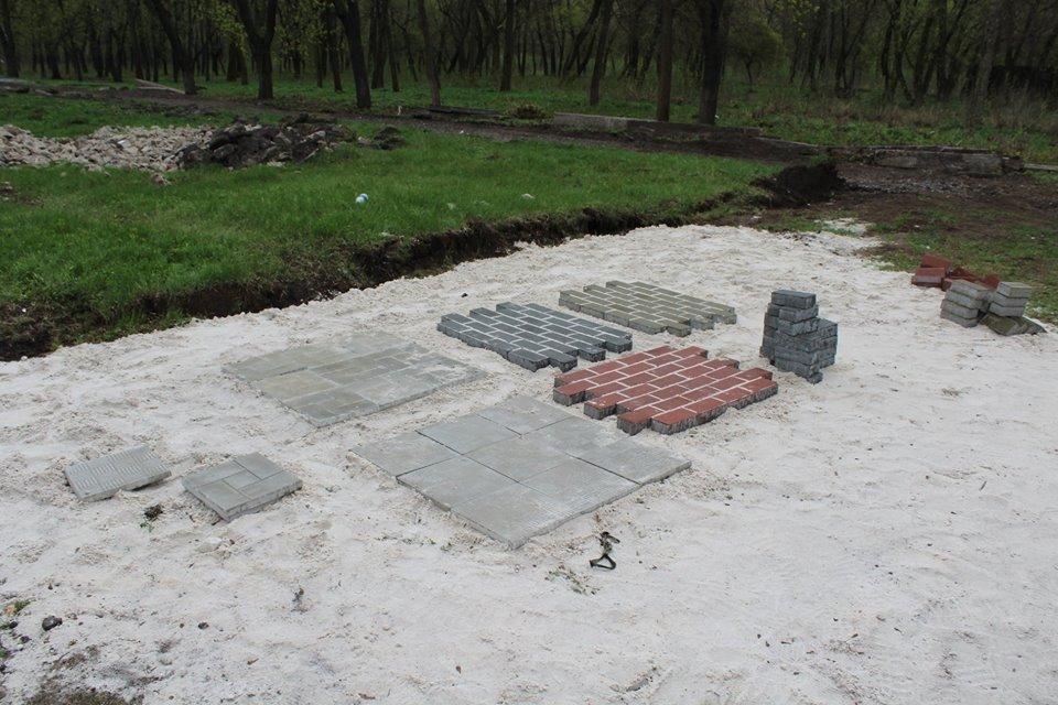 Дружківка: В міському парку культури відновлено роботи з реконструкції (ФОТО), фото-7