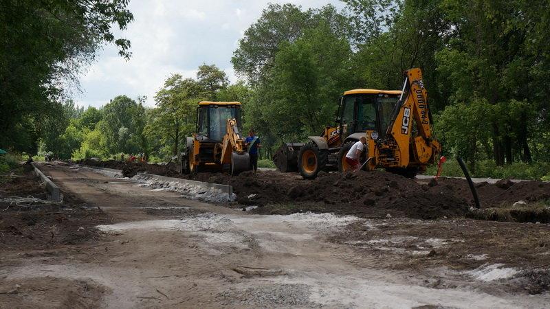 Дружківка: В міському парку культури відновлено роботи з реконструкції (ФОТО), фото-6