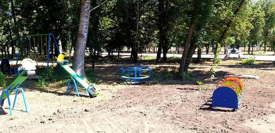 Дружківка: В міському парку культури відновлено роботи з реконструкції (ФОТО), фото-2