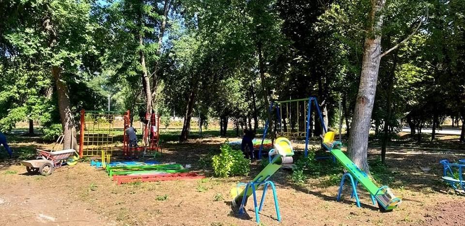 Дружківка: В міському парку культури відновлено роботи з реконструкції (ФОТО), фото-3