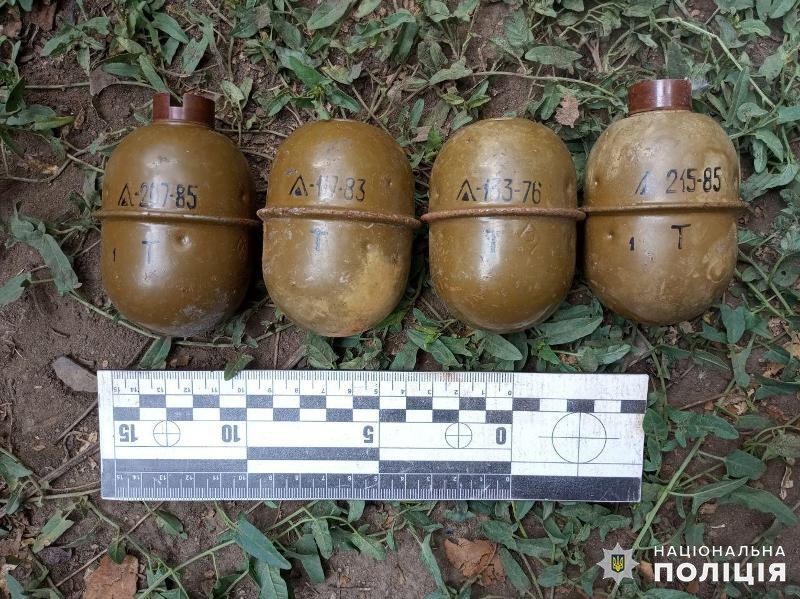 Сім бойових гранат зберігав у себе на подвір'ї мешканець Дружківки (ФОТО), фото-2