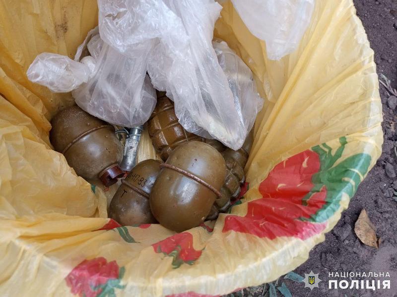 Сім бойових гранат зберігав у себе на подвір'ї мешканець Дружківки (ФОТО), фото-1