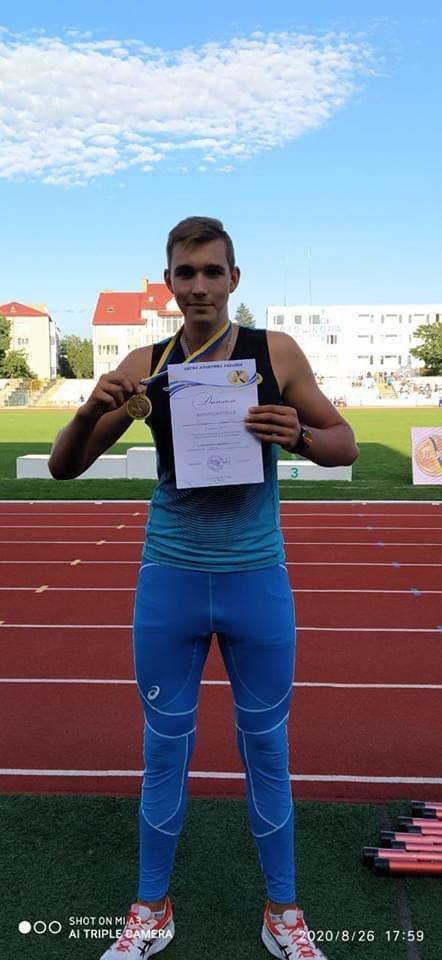 Дружківський атлет став чемпіоном України в метанні диску, фото-2