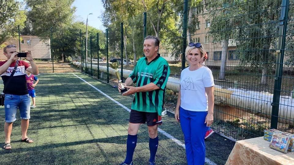 В Дружківці визначилися призери футбольного чемпіонату серед команд підприємств та аматорів, фото-2