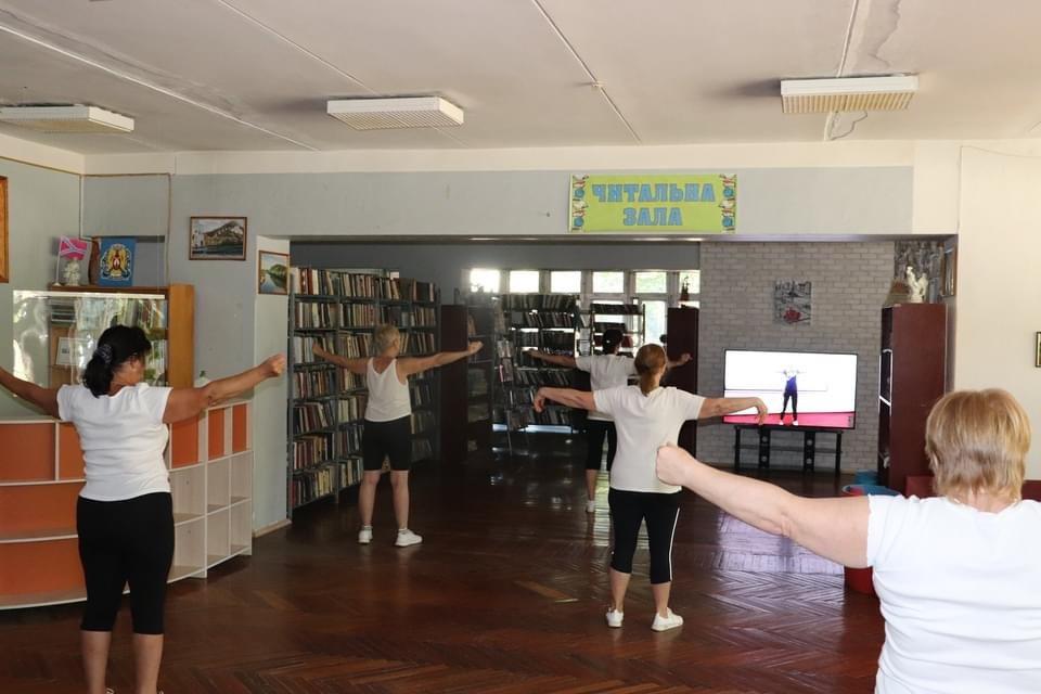 У центральній Дружківській бібліотеці і читають, і спортом займаються (ФОТО), фото-5