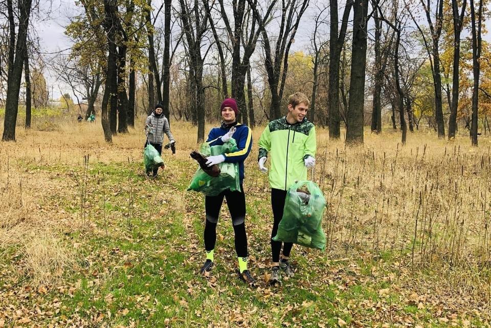Юні легкоатлети Дружківки долучилися до ECOlympic та прибрали сміття з Молодого парку (ФОТО), фото-5