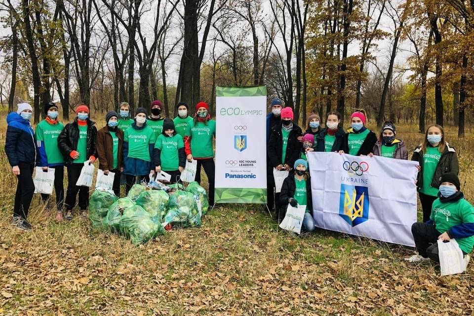 Юні легкоатлети Дружківки долучилися до ECOlympic та прибрали сміття з Молодого парку (ФОТО), фото-12
