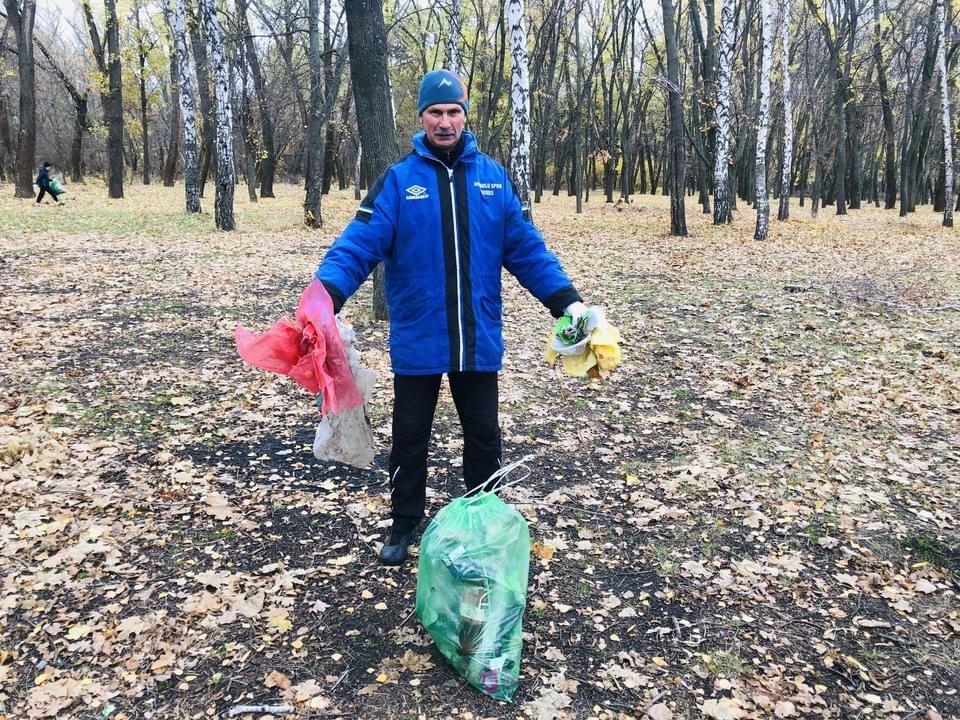 Юні легкоатлети Дружківки долучилися до ECOlympic та прибрали сміття з Молодого парку (ФОТО), фото-4