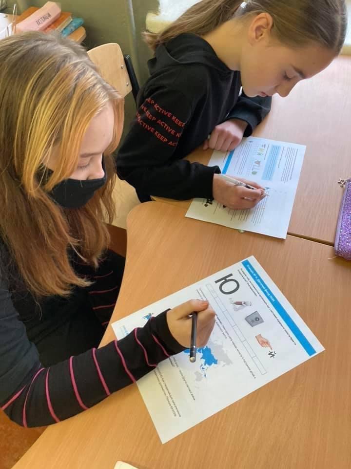 Дружківка: До Всесвітнього дня дитини у школі №7 провели тематичний урок (ФОТО), фото-2
