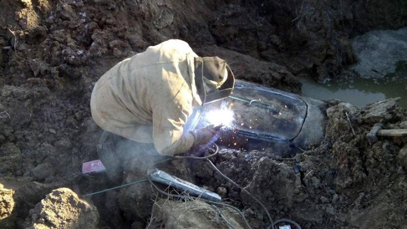 Аварію на водогоні поблизу Слов'янська ліквідовано , фото-1