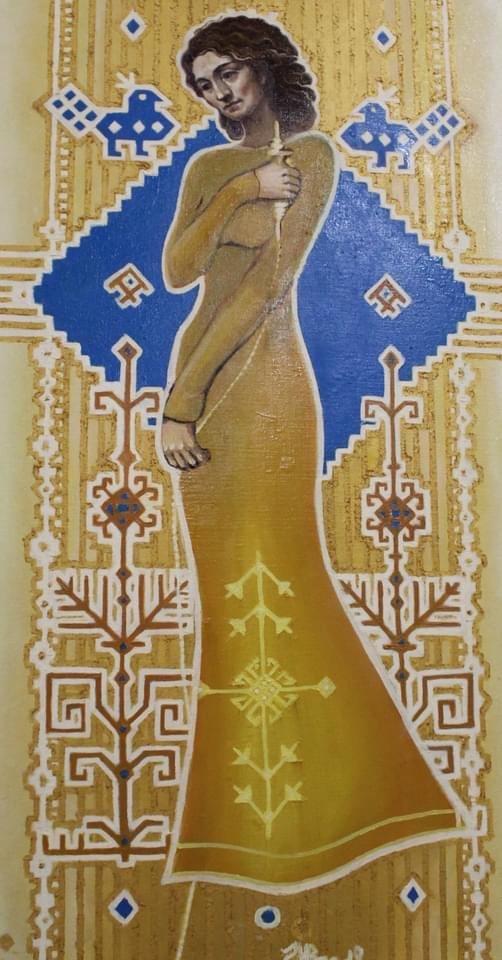Дружківка: Швидкоплинність жіночності у картинах Наталії Роспутько , фото-3