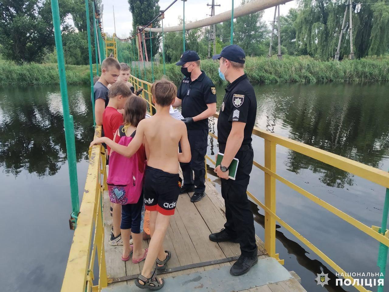 Поліція проводить рейди на водоймах Дружківки, фото-1