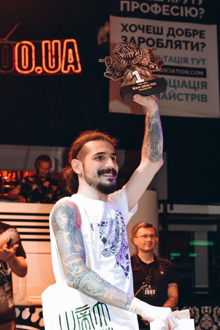 Унікальні тату від кращих майстрів України: WAVE TATTOO FEST 2021, фото-32