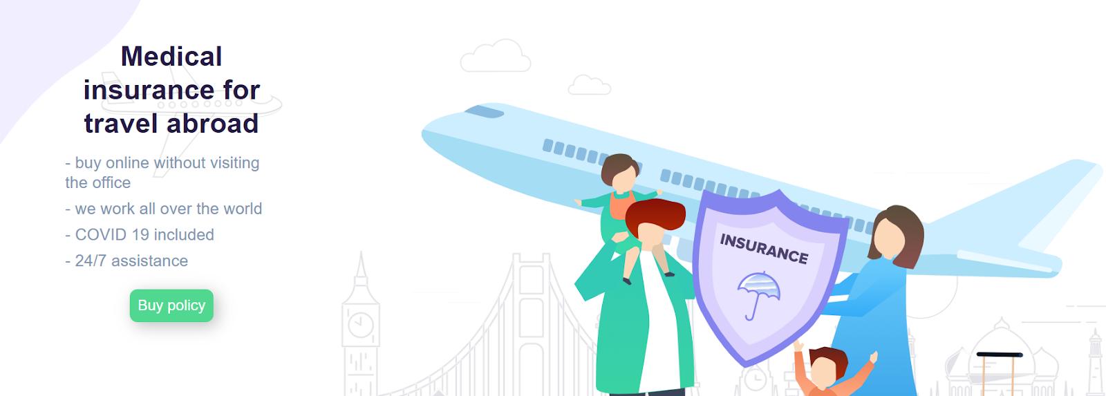 Медицинская страховка заграницу